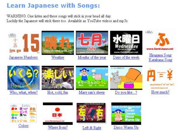 Study japanese online games