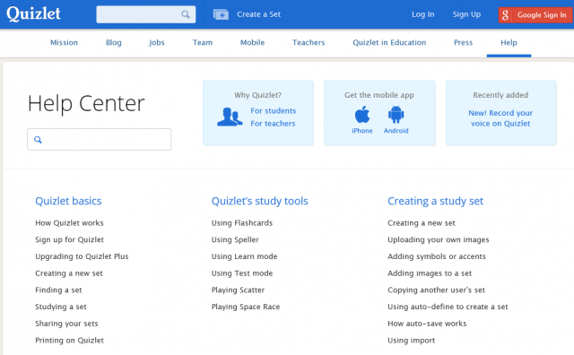 Quizlet | NIHONGO eな - Portal for Learning Japanese -
